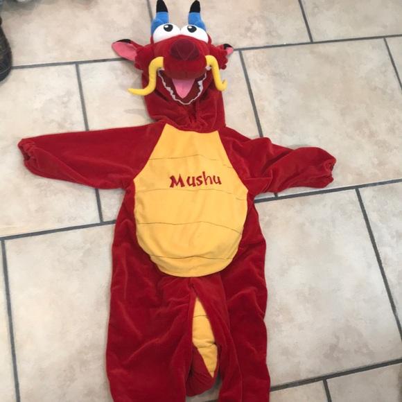 Disney Costumes Store Mushu Costume Poshmark